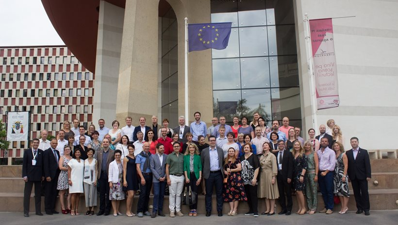 Participants at the annual General Assembly of EAHP in Bucharest